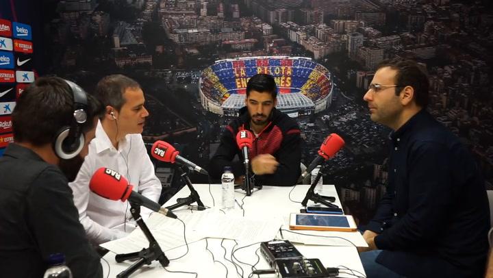 Luis Suárez, entrevistado por RAC1