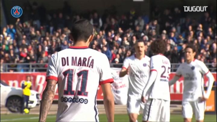 Zlatan Ibrahimović's Volley In 9-0 Troyes Win