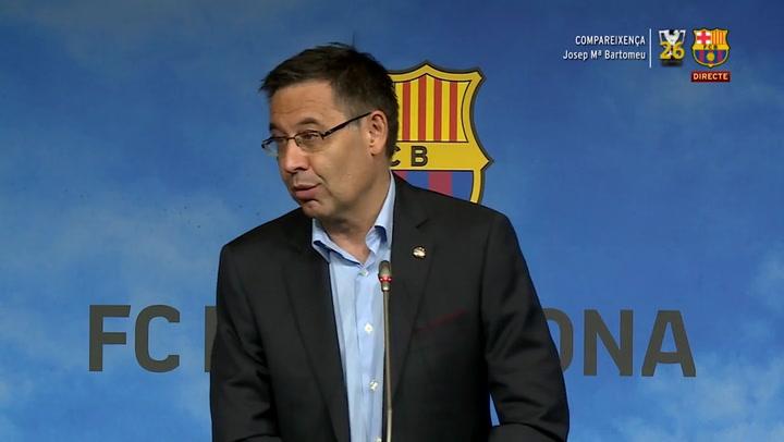 Bartomeu confirma que hará una propuesta a Valdés para volver al Barça