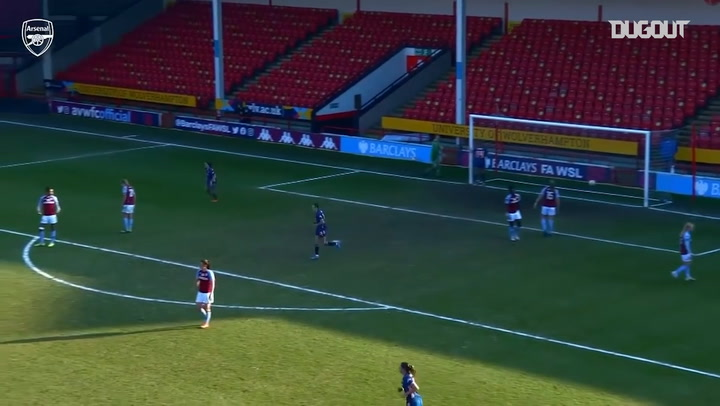 Katie McCabe's unstoppable strike vs Aston Villa