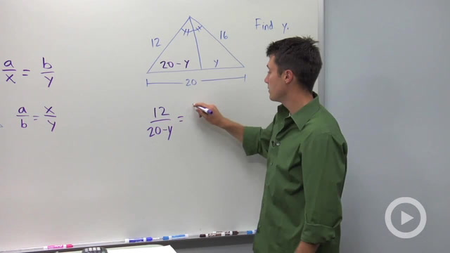 Angle Bisectors and Opposite Side Ratios - Problem 2