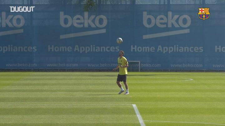 Barcelona, Atletico Madrid Maçı Hazırlıklarını Sürdürüyor