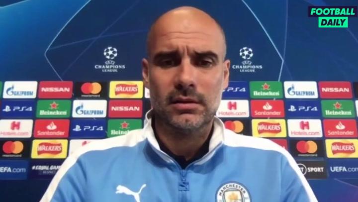 """Guardiola: """"Eric Garcia no quiere renovar con el Manchester City"""""""