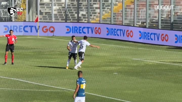 Colo-Colo's triumph vs Everton