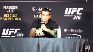 Werdum on what he went through to have a fight at UFC 216