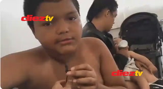 Impactante: Niño hondureño revela cómo fue detenido en la frontera de México