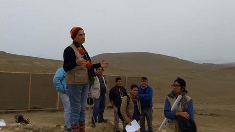 Descubren en Perú un muro prehispánico de 3.800 años