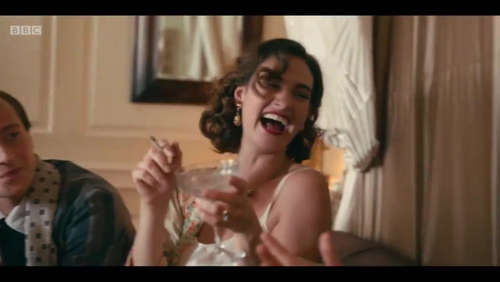 The Pursuit of Love: the first trailer for Lily James and Dominic West\'s racy new period drama is here