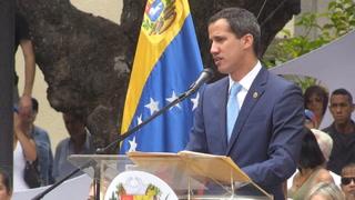 Guaidó convoca a marcha 'más grande de la historia' en Venezuela