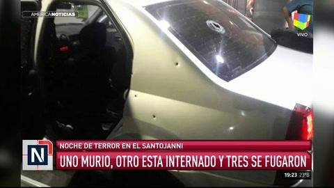 Un policía se tiroteó con cinco delincuentes y uno murió en la puerta del Santojanni