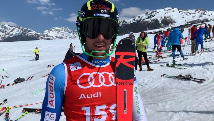 Álex Puente se lleva el Campeonato de España de Slalom