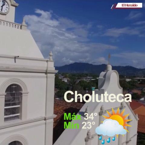 Conoce las condiciones del tiempo para este martes en Honduras