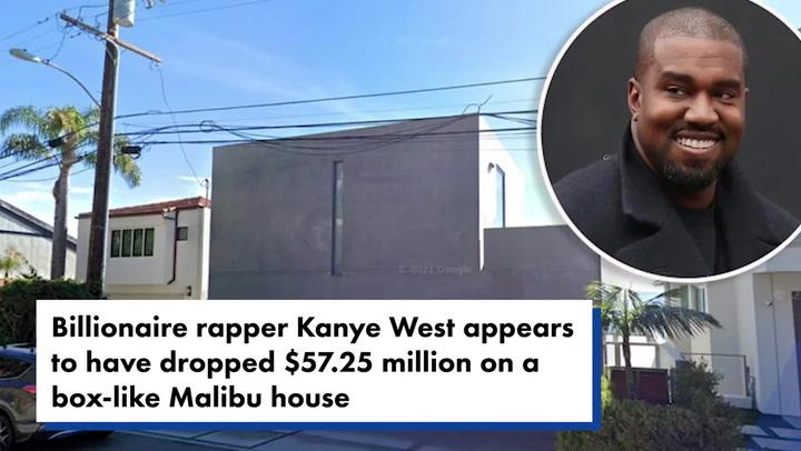 Kanye West reportedly buys $57.3m 'bunker-like' Malibu mansion