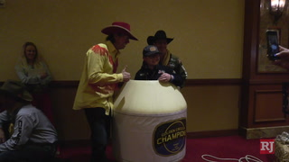 NFR hosts Golden Circle of Champions for kids fighting life-threatening illnesses – Video