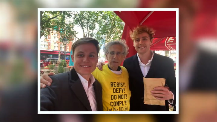 Anti-vaxxer Piers Corbyn takes fake bribe from pranksters posing as Astrazeneca reps