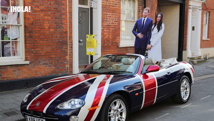 Las imágenes más curiosas y divertidas que la fiebre por la Boda Real ha dejado en Windsor