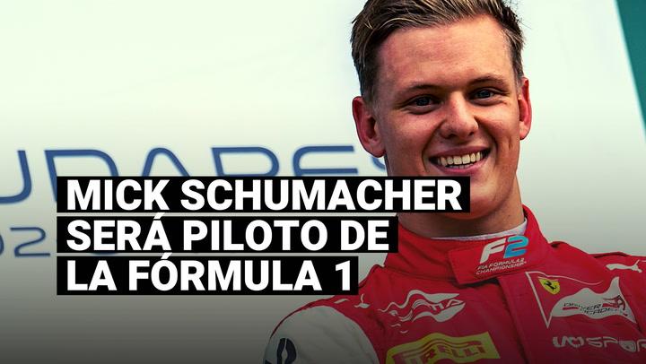 Mick Schumacher será gran novedad la Fórmula 1 con la escudería Haas en 2021