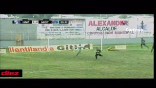 ¡Manita de Motagua a Honduras con dobletes de Rubilio y Moreira!