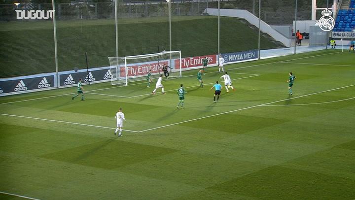 Reinier gets a brace for Real Madrid Castilla