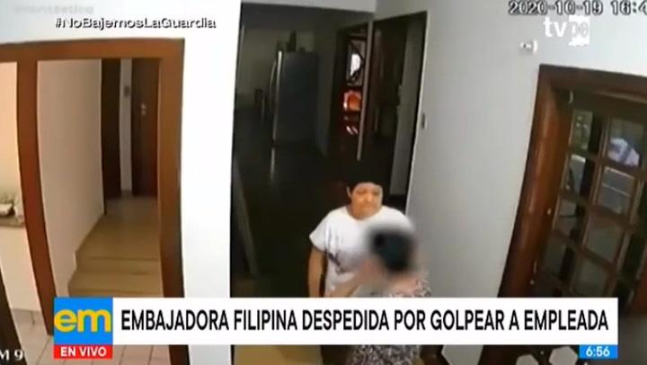 Brasil: Embajadora de Filipinas es despedida por golpear a su empleada doméstica