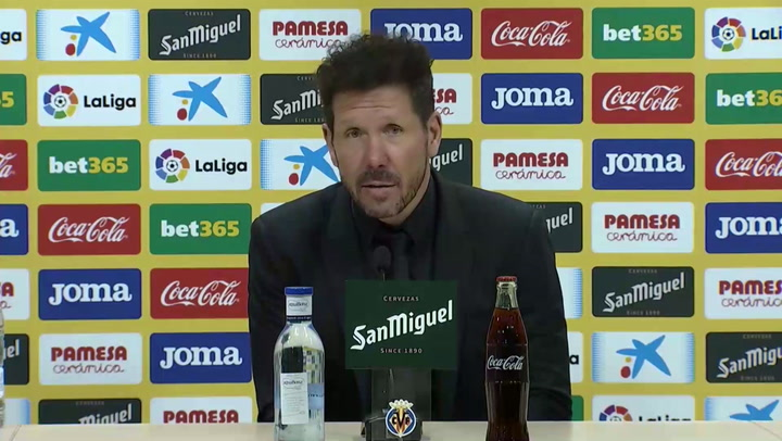 """Simeone, sobre Joao Félix: """"Me gustan los jugadores rebeldes"""""""