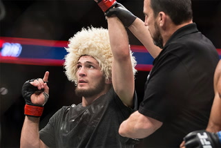 Nurmagomedov says McGregor is a good fighter, but he's not a champion