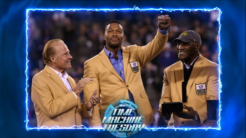 Time Machine Tuesday 2014: Michael Strahan gets his HOF Ring