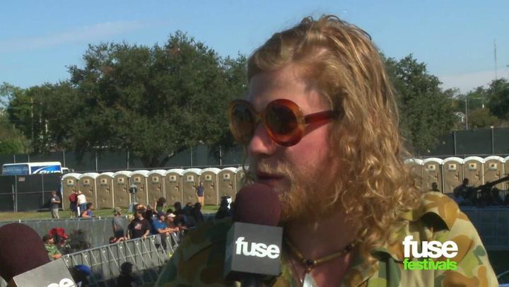Allen Stone Talks Nursing Home Roots at Voodoo Music Fest