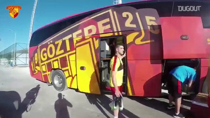 Goztepe: Training Diaries