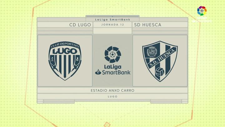 LaLiga SmartBank (J12): Resumen y goles del Lugo 3-2 Huesca