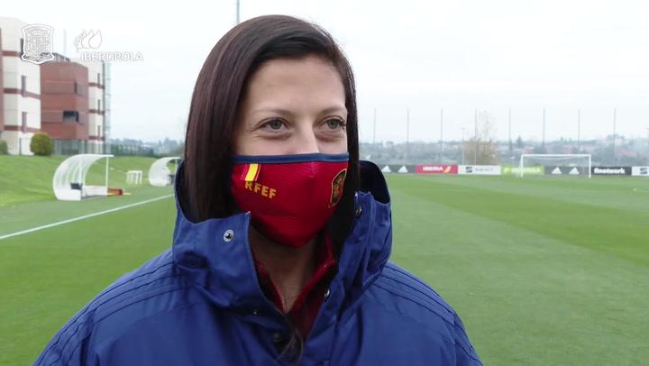 Jenni Hermoso, orgullosa por su nominación al premio The Best por la FIFA