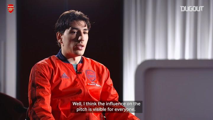 Héctor Bellerín on Mikel Arteta's 'natural path' to management