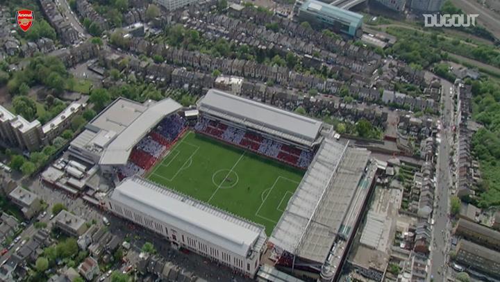 Arsenal's final game at Highbury