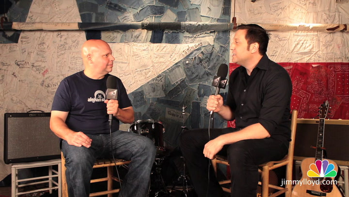 Matt Pinfield is interviewed on The Jimmy Lloyd Songwriter Showcase