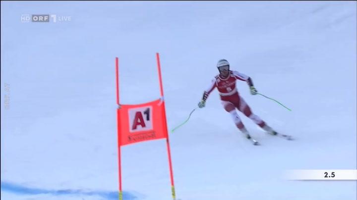 Vincent Kriechmayr gana en Kitzbühel y manda ya en el SG
