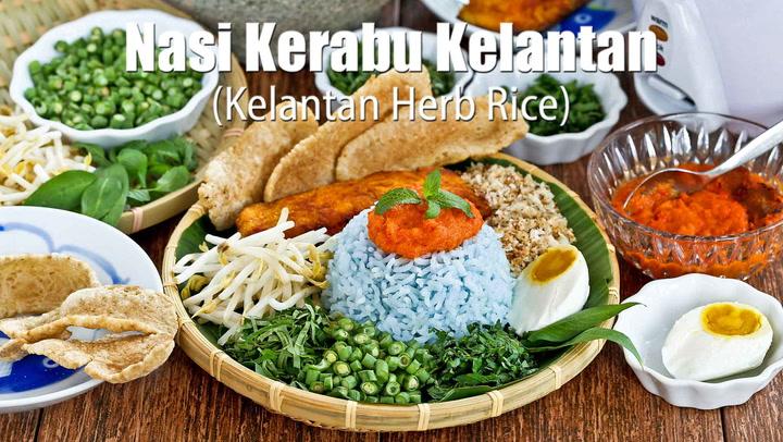 Nasi Kerabu Kelantan Herb Rice Roti N Rice
