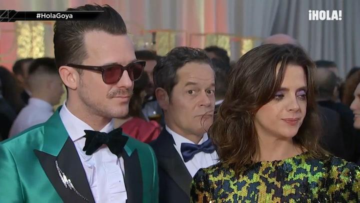 Premios Goya 2020: Macarena Gómez y Aldo Comas cuentan a HOLA.com los detalles de sus looks
