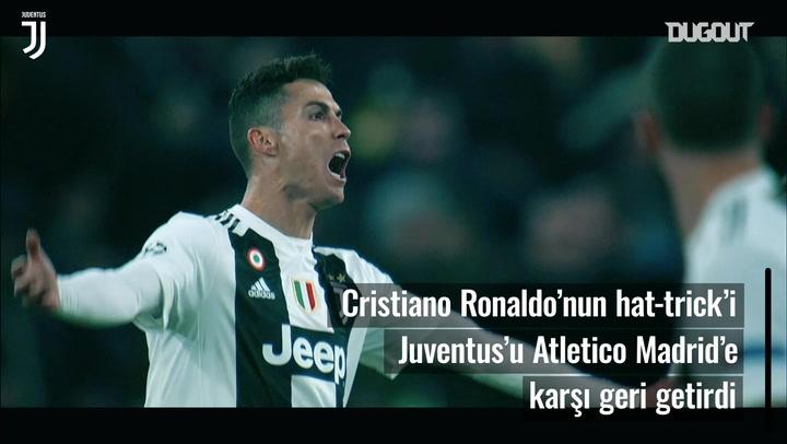 Cristiano Ronaldo'nun Tek Başına Atletico'ya Kafa Tutması