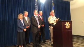 Las Vegas police news conference on mass shooting