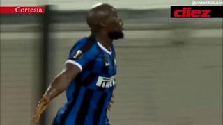 ¡Pura fuerza! El gol de Romellu Lukaku ante Leverkusen en la Europa League