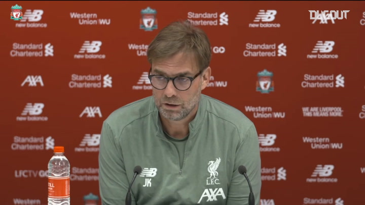 Klopp confirms Alisson injury