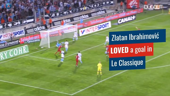 Zlatan Ibrahimović Le Classique top scorer