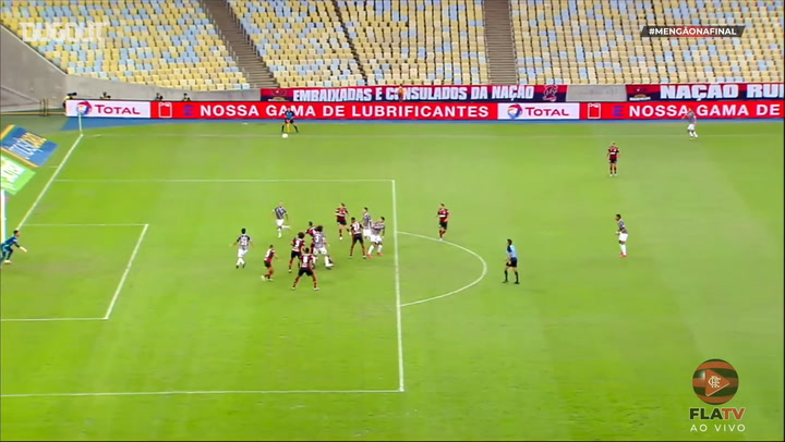Pedro's header secures a draw for Flamengo against Fluminense
