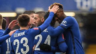 Chelsea clasifica a los octavos de final de la FA Cup con un triplete de Abraham ante Luton