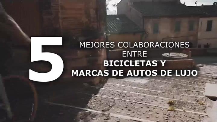 5 Bicicletas que se construyeron de la mano con marcas de autos
