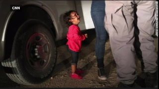 CHECK YOUR FACTS: Crying immigrant child in photo never separated from mother, father explains