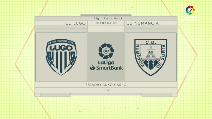 LaLiga Smartbank (Jornada 37): Lugo 3-1 Numancia