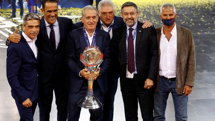 """Bartomeu: """"Son tres Champions en 10 años"""""""