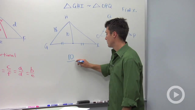 Corresponding Parts of Similar Triangles - Problem 3