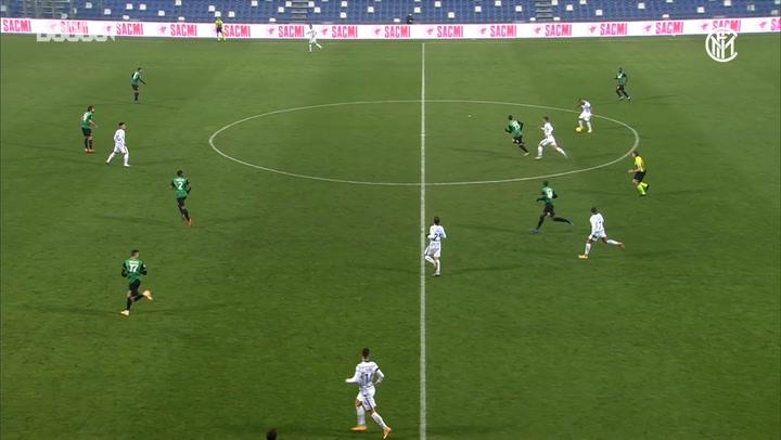 Inter's team move leads to Gagliardini's goal